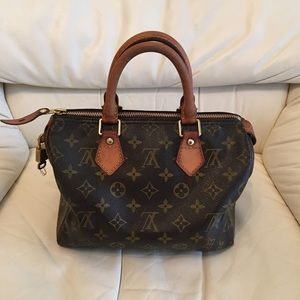 Authentic Preowned Louis Vuitton speedy25
